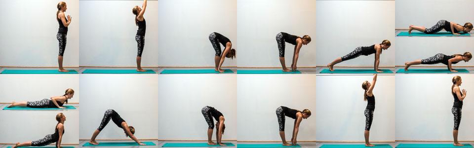 Yoga Sonnengruß A